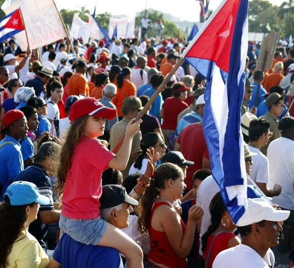 Primero de Mayo de 2016. Foto: José Raúl Concepción/ Cubadebate.