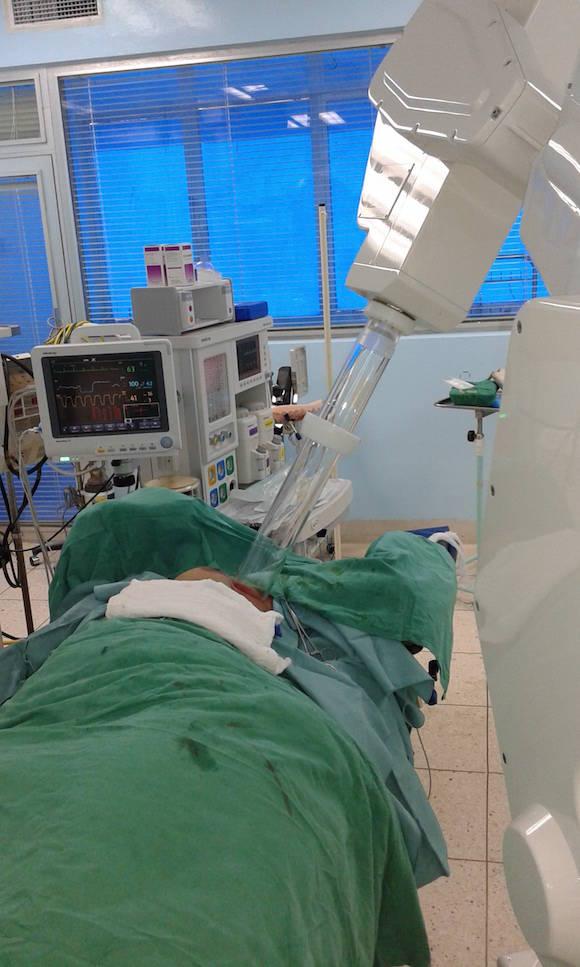 Gracias a la radioterapia intraoperatoria es posible alcanzar dosis totales elevadas sin aumento del riesgo de dañar tejidos sanos y con igual supervivencia.