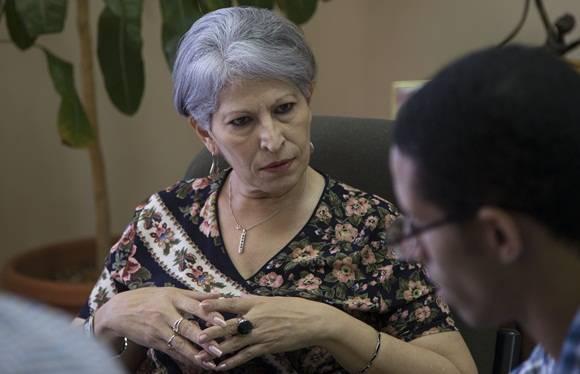 Ana María Ortega Tamayo, Directora General de TRD Caribe. Foto: Ismael Francisco/ Cubadebate.