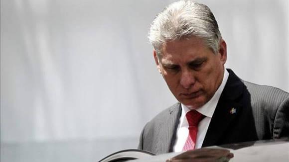 Miguel Díaz-Canel, Primer Vicepresidente cubano.