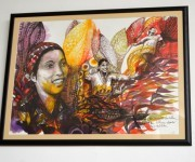 """Maria Caridad Colón"". Jabalina. Foto. Marianela Dufflar / Cubadebate"