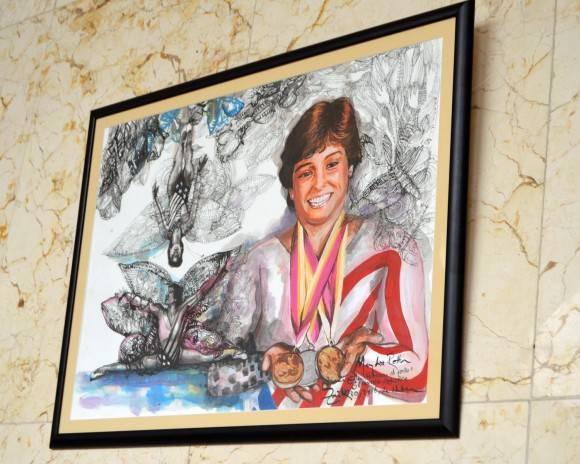 Mary Louis Retta, Gimnasia, EEUU.  Foto: Marianela Dufflar / Cubadebate