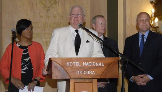 Tom Cochran, director ejecutivo de la Conferencia Nacional de Alcaldes. Foto: Abel Rojas Barallobre/ Juventud Rebelde.