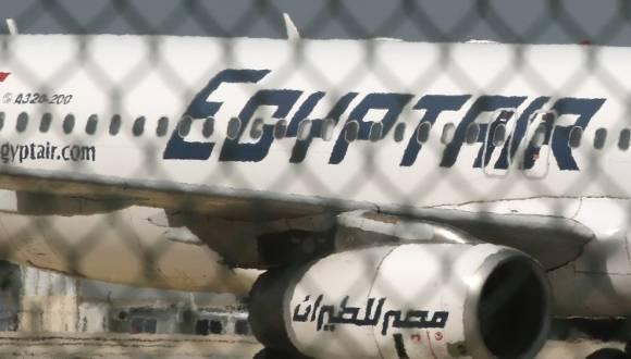 Avión de la compañía EgyptAir. Foto: Al Jazeera.