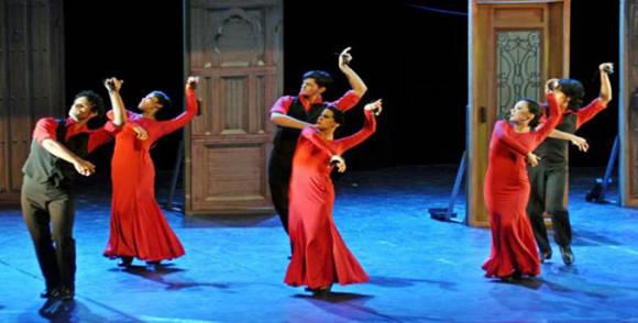La compañía cubana de baile flamenco de Irene Rodríguez se presentará en Nueva York. Foto: RHC/ Archivo.