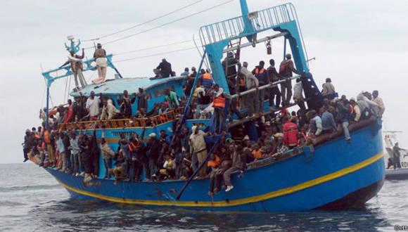 Casi mil 800 migrantes fueron rescatados por la marina italiana. Foto: Getty/ Archivo.