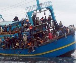 barco migrantes Getty