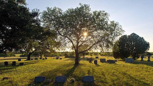 Cementerio de Nommanda, Texas. Foto: Texas Tribune
