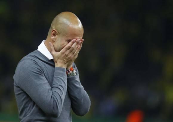 Guardiola gana su último título con el Bayern como ganó el primero -la Supercopa europea contra el Chelsea-, en la definición por penaltis. De algún modo, el círculo se cierra. Foto: Reuters