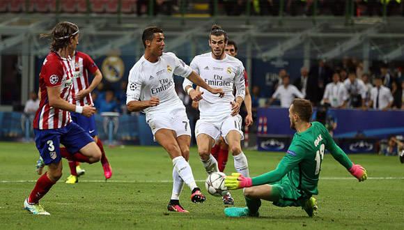 Cristiano Ronaldo falló un tiro a puerta. Foto: El País.