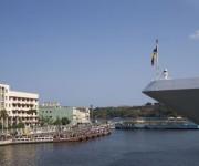 """""""Cuba Libre"""" para los pasajeros del crucero Adonia (+ Fotos y Video)"""