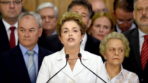 Dilma Rousseff.