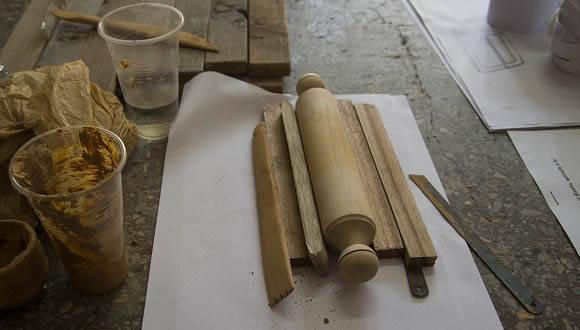 Taller Diseño y Cerámica. Bienal de Diseño de La Habana. Foto: Ismael Francisco/ Cubadebate