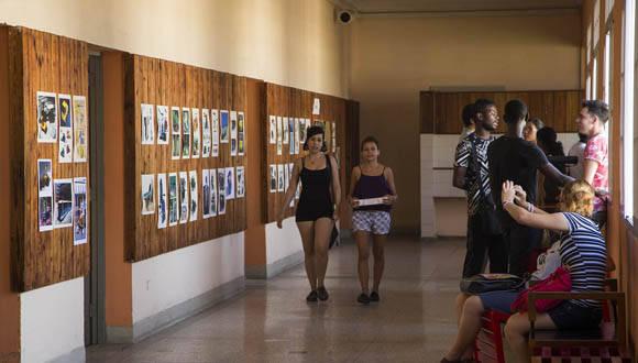 El Instituto Superior de Diseño es sede de la Bienal de Diseño de La Habana. Foto: Ismael Francisco/ Cubadebate.