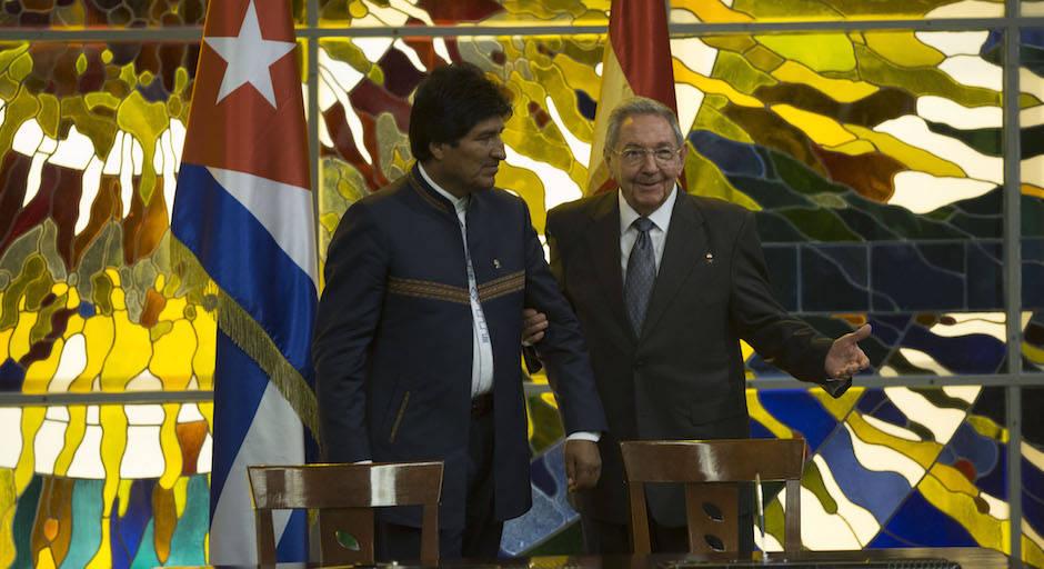 Recibió Raúl a Evo Morales (+ Fotos y Videos)