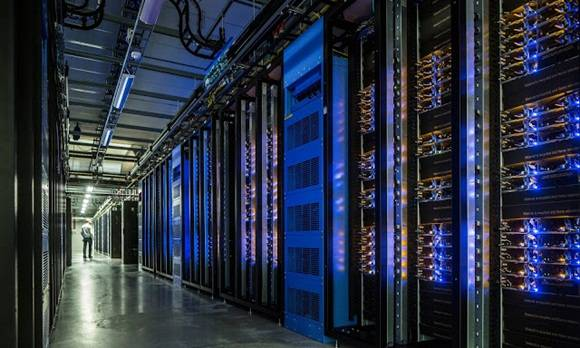 Los servidores donde se almacenan millones de imágenes.