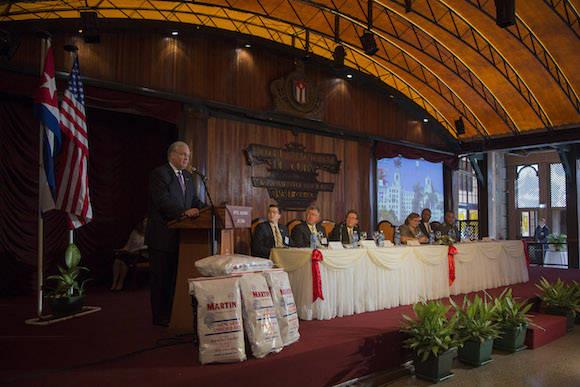 Sesiona en La Habana Foro Empresarial Cuba-EEUU