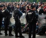 El proyecto de reforma laboral ha ocasionado multitudinarias protestas en todo el país galo. Foto: AFP.