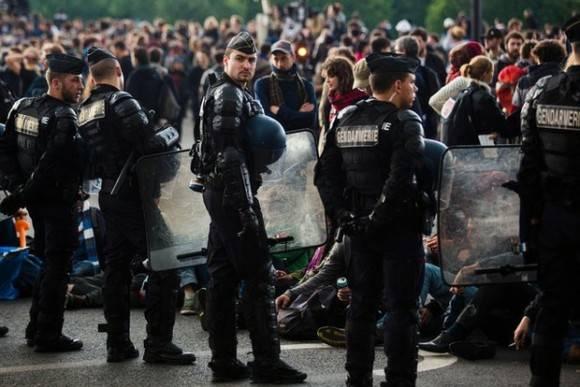 Continúan protestas en Francia contra reforma laboral. Foto: AFP.