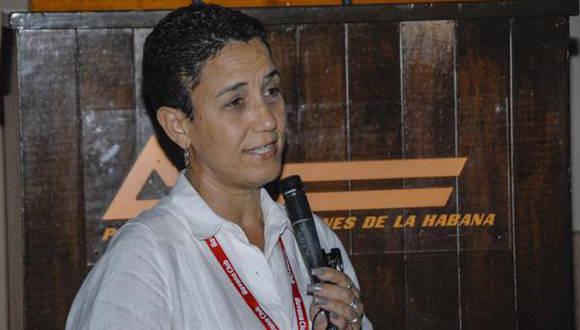 Gisela Herrero García, presidenta de la Oficina Nacional de Diseño (ONDI) Foto: Oriol de la Cruz/ ACN.