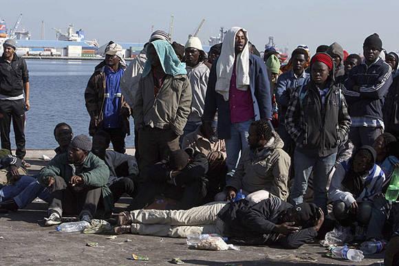 Libia es la mayor ruta de inmigración ilegal hacia Europa. Foto: EFE (Archivo, tomada de www.emol.com)