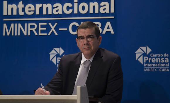 El Embajador cubano en Washington José Ramón Cabañas. Foto: Ismael Francisco/ Cubadebate