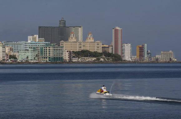 Rally de lanchas rápidas Florida - La Habana. Foto: Ismael Francisco/ Cubadebate.