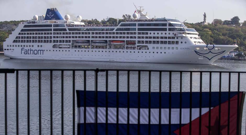 En La Habana, primer crucero de EEUU en medio siglo (+ Fotos y Video)