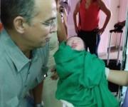 Luis Alejandro Guerrero nació al mediodía de este Primero de Mayo.