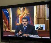 Desde la Embajada de Venezuela en Cuba, seguimos la conferencia del Presidente Nicolás Maduro. En la rueda con los periodistas se utilizaron las tecnologías de video- conferencias en tiempo real que enlazaron a diversos países del mundo. Foto: Ismael Francisco/ Cubadebate