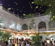 Mariposas amarillas para Gabo en Cartagena.