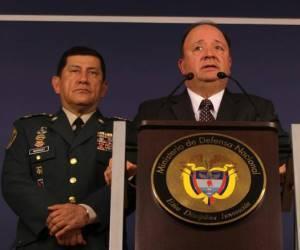 Ministro de Defensa colombiano, Luis Carlos Villegas. Foto: Archivos.