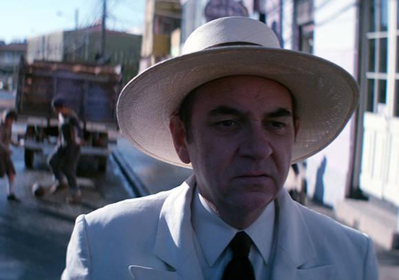 """""""Neruda"""", cinta del chileno Pablo Larraín es presentada en el Festival de Cannes. Foto: Captura de pantalla."""
