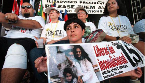 San Juan realizará hoy una marcha 2,6 millas, para solicitar la excarcelación de López Rivera. Foto: Twitter.