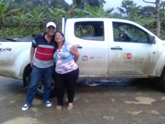 Integrantes de la Brigada Médica del Contingente Henry reeve que prestan colaboración en Ecuador. Foto: Dr. Enmanuel Vigil