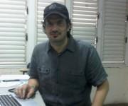 Juan José Posada en Cuba, director creativo de Geometry Global en Reino Unido. Foto: María del Carmen Ramón.