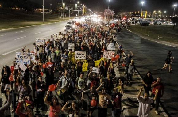 protestas en brasil 2