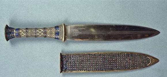 El puñal de Tutankamón es extraterrestre.El hierro procede de un meteorito. Foto Getty Images.