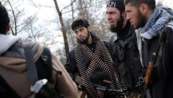 Grupos terroristas sirios. Foto: AFP.