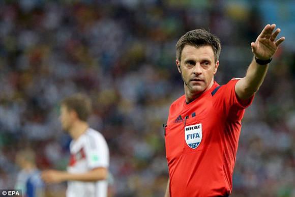 El arquitecto italiano Nicola Rizzoli, de 44 años, pitó la final del Mundial 2014 y será uno de los referees en la Euro 2016.