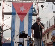 Silvio en Tamarindo. Foto: Iván Soca Pascual/ Facebook