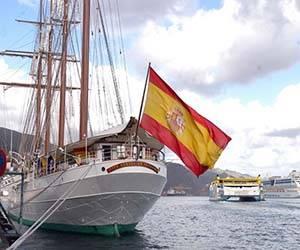 Buque Escuela de la Armada Española llegará este miércoles a Cuba