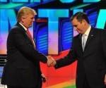 Trump y Cruz.