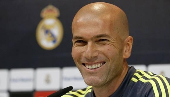 """""""Soy un hombre feliz"""", señaló Zidane a seis días de la final de Champions."""