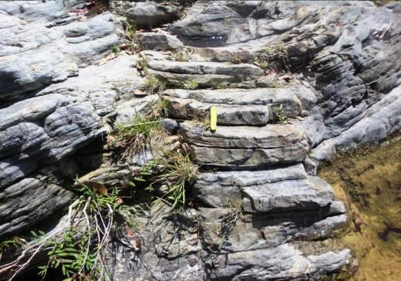 Pico Tuerto Holoestratotipo Jurásico-Cretácico  Sancti Spíritus. Foto: . Lisette L. Arias Ceruelos Esp. Comunicación y Marketing IGP, Servicio Geológico de Cuba / Cubadebate