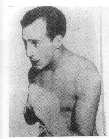 El boxeador argentino Carmelo Robledo.