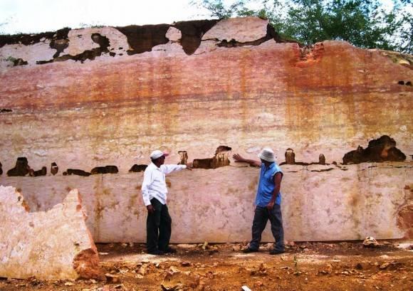 Mármoles Real Campiña  Cienfuegos. Foto: . Lisette L. Arias Ceruelos Esp. Comunicación y Marketing IGP, Servicio Geológico de Cuba / Cubadebate