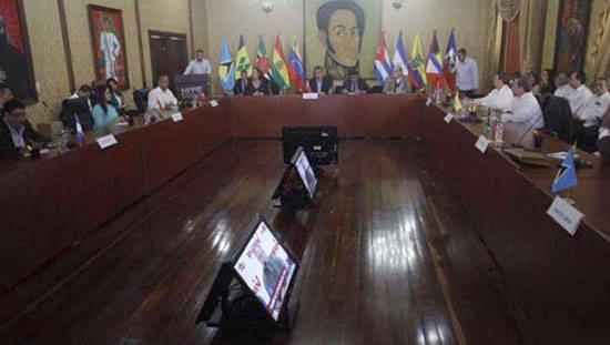 El Consejo Político de la Alianza Bolivariana para los Pueblos de Nuestra América (ALBA), se reunie este miércoles en Caracas, la capital venezolana, con la meta de debatir estrategias en común para la defensa de la región.