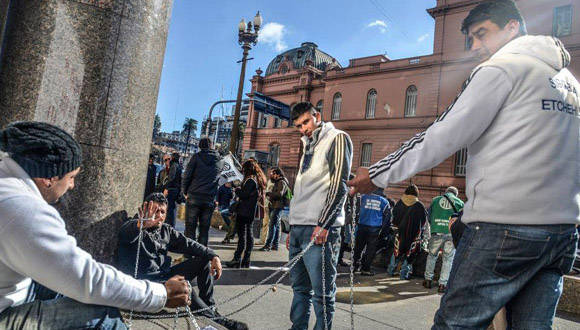 Argentina protestas. Foto Kaloian.1