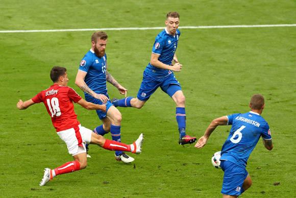 Austria fue cabeza de serie pero se va de la Euro con sólo un punto. Foto: UEFA.